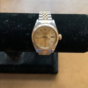 Pre-owned Rolex 18k & Stainless Steel 26mm